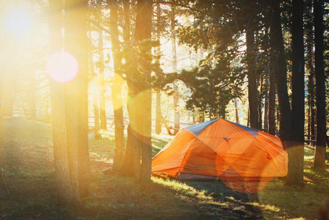 Czy warto zrezygnować z luksusów na korzyść wakacji pod namiotem?